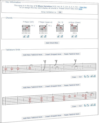 TabStar Tab Generator - Guitar Tablature Generation, Tab Parser ...